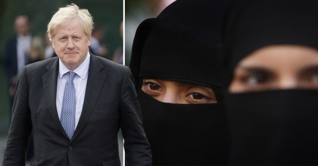 Tell MAMA says in the week after the PM made his comments, women who wore the burka were targeted (Picture: Getty)