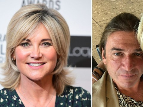 Anthea Turner melts over fiancé Mark Armstrong after seven week whirlwind engagement: 'He's the one'