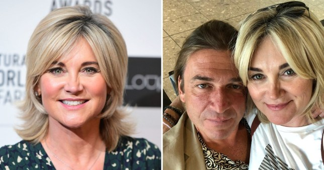 Anthea Turner and Mark Armstrong