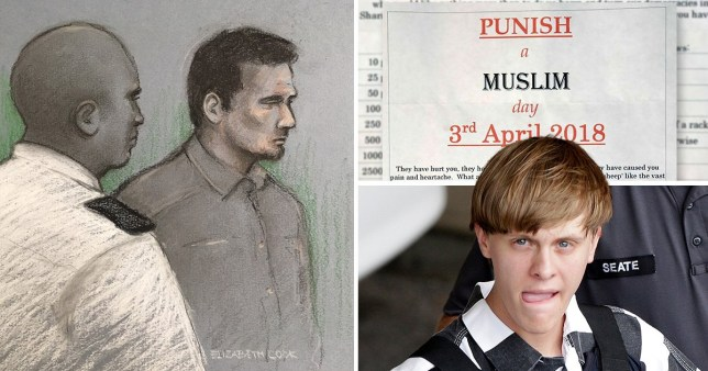 Racist behind 'punish a Muslim day' sent thank you letter to US mass murderer
