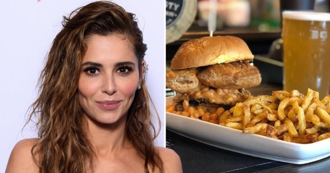 The Brandling villa sold a burger called Dirty Thoughts of Cheryl Cole featuring a Gregg's sausage Roll