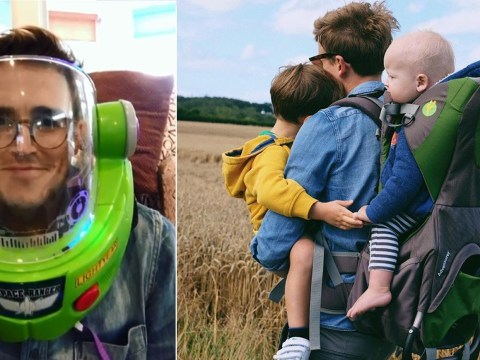 Tom Fletcher channels inner Buzz Lightyear after naming son after Toy Story character