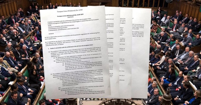 The European Union (Withdrawal) (No. 6) Bill 2019