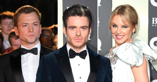 GQ awards Taron Egerton, Richard Madden and Kylie Minogue