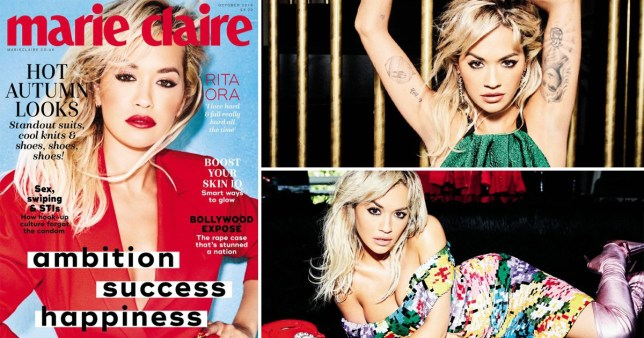 Rita Ora admits she falls in love 'really hard' but dating isn't her 'main priority' right now
