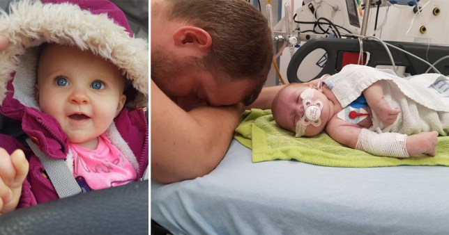 Medics bring baby back to life by dunking her in freezing water