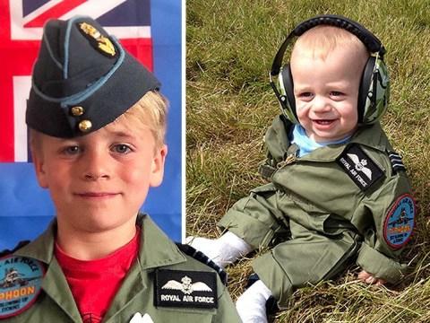 Boy, 5, raised £6,000 for injured RAF veterans by climbing Yorkshire's highest peak