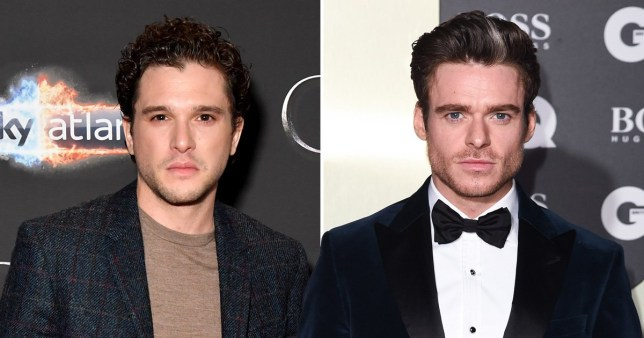 Kit Harington and Richard Madden