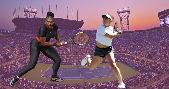 Serena Williams and Bianca Andreescu, who will be going against each other in the US Open women's finals