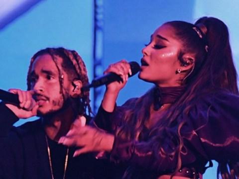 Ariana Grande cries on-stage singing Mac Miller song | Metro