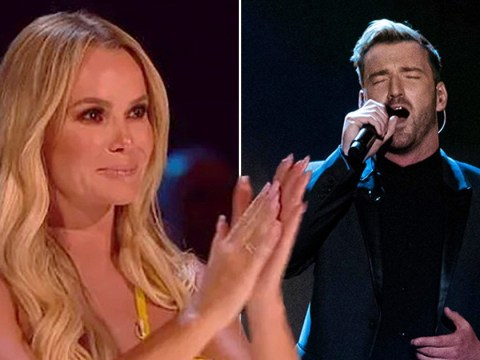 Amanda Holden flustered by Britain's Got Talent winner Jai McDowell as he reveals transformation on Champions