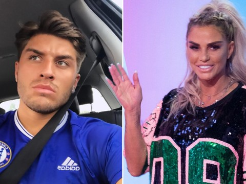 Katie Price 'confiscates boyfriend Charles Drury's phone to stop him gossiping about her to mates'