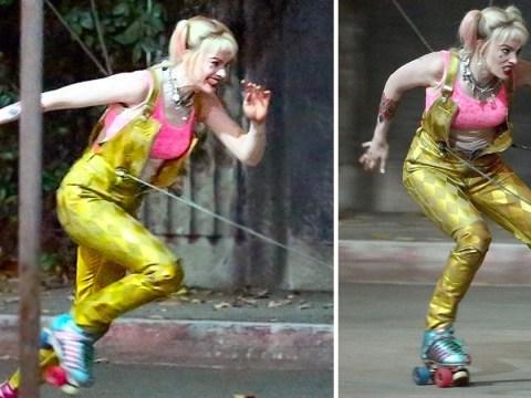 Harley Quinn is back! Margot Robbie braves daring stunts during Birds of Prey reshoots