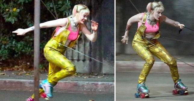 Margot Robbie Braves Daring Stunts During Birds Of Prey Reshoots Metro News