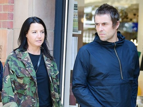 Liam Gallagher and Debbie Gwyther spotted after engagement rumours but she's not wearing a diamond ring yet