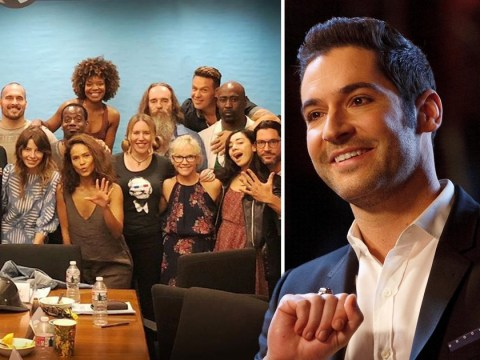 Lucifer season 5 kicks off filming as Tom Ellis celebrates with crew