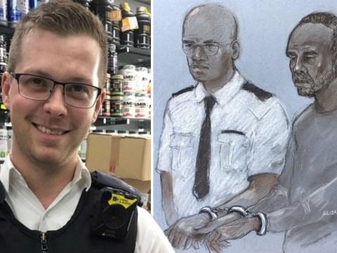 Man denies trying to murder 'Britain's hardest copper' with machete