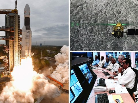 Indian space scientists devastated after moon landing fails