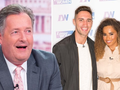 Piers Morgan trolls Love Island fans as Amber Gill and Greg O'Shea split