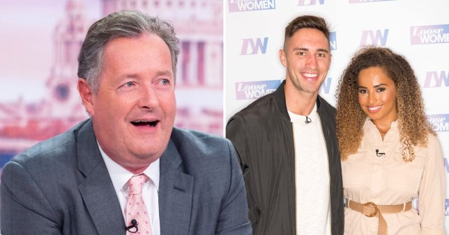 Piers Morgan trolls Amber and Greg over their split