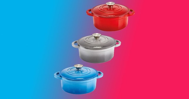 The Aldi Le Creuset dupe cookware