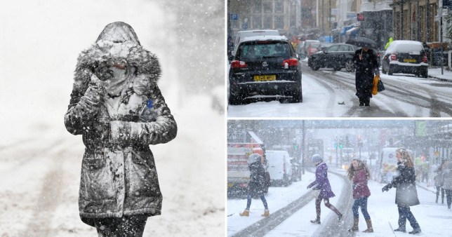 Could we see a return of the Beast from the East? (Picture: Getty, PA)