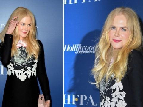 Nicole Kidman all smiles at Toronto International Film Festival ahead of Goldfinch release