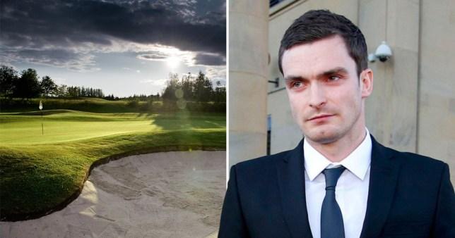 Adam Johnson has become a member of Wynyard Golf Club