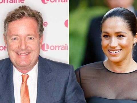 Piers Morgan congratulates Meghan Markle for being 'top social climber'