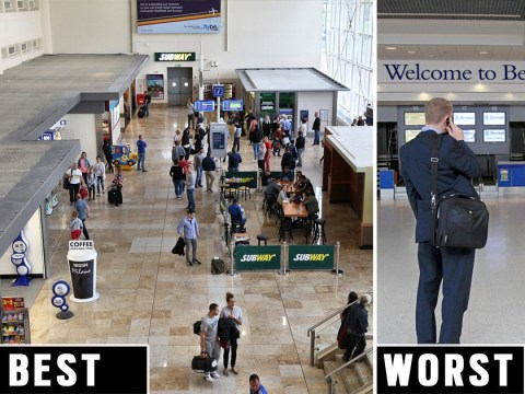 Britain's best and worst airports revealed