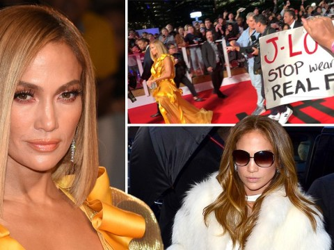 Jennifer Lopez hounded by anti-fur protesters at Hustlers premiere: 'You've got blood on your hands!'