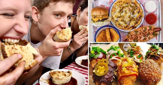 Vegan eating contests