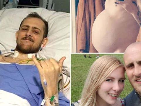 Man 'wanted to die' after after rare illness caused belly to swell up like he was pregnant