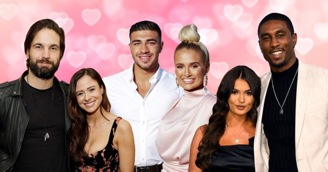 camilla thurlow and jamie Jewitt, ovie soko and india reynolds and tommy fury and molly mae hague from Love Island