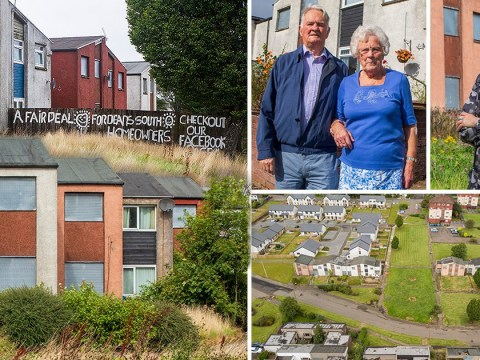 Real life Up couple refuse to leave housing estate facing demolition for 15 years