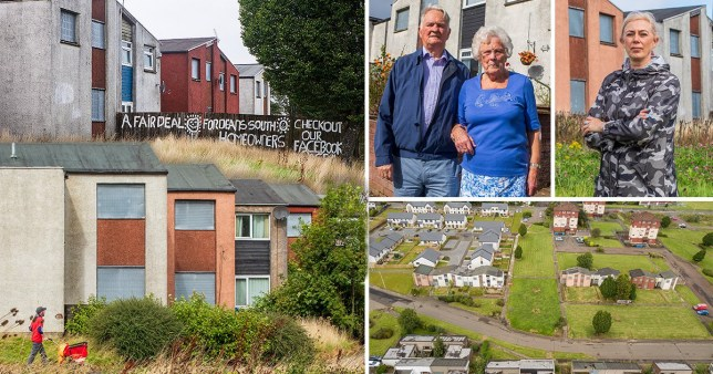 Joe and Isabel Baxter have lived in their house in Deans South for 53 years (Picture: SWNS)