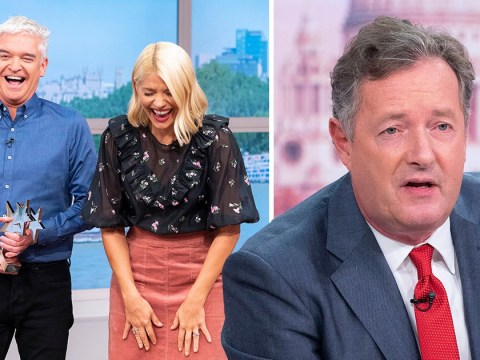 Piers Morgan makes Phillip Schofield penis joke as he hits out at This Morning again