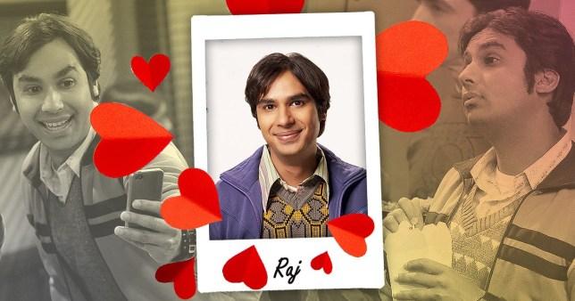 Raj Perfect Girlfriend Big Bang Theory