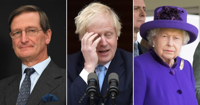 Dominic Grieve, Boris Johnson and the Queen
