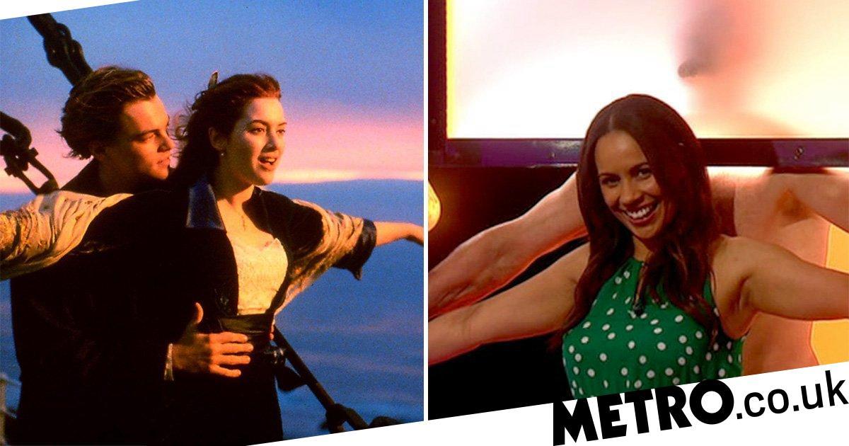 Naked Attraction contestants re-create Titanic scene