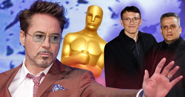 Avengers: Endgame's Robert Downey Jr, and Joe and Anthony Russo