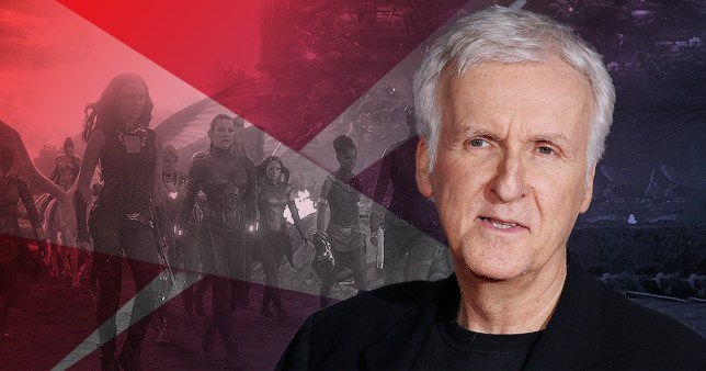 James Cameron and avengers
