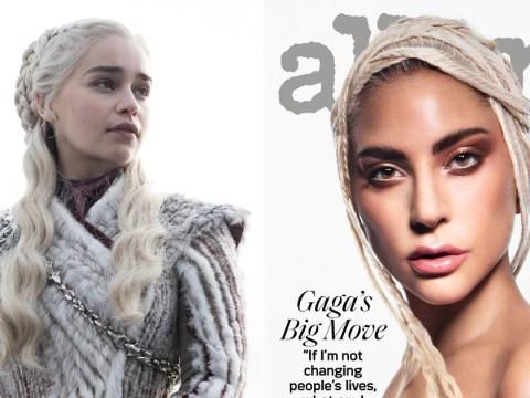 Lady Gaga gives us big Daenerys Targaryen energy in stunning new cover shoot