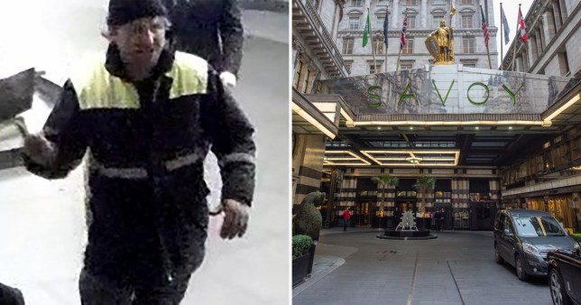 Police want to trace the victim of an attack last December outside the Savoy hotel