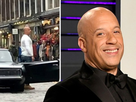 Vin Diesel singing Flower Of Scotland at the top of his voice in the street is the video we never knew we needed