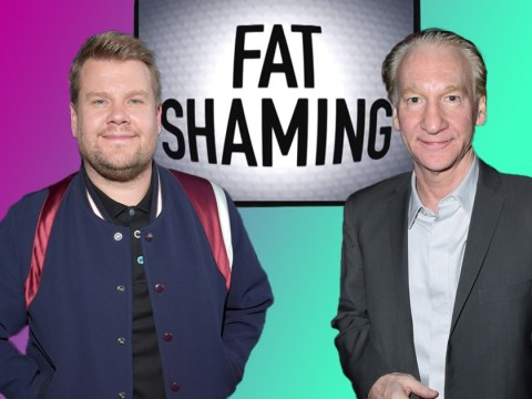 James Corden rages at Bill Maher after he calls for a fat-shaming comeback