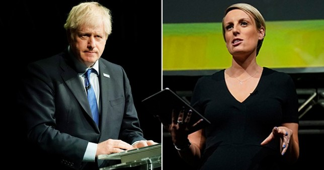 BBC star apologises for mocking Boris Johnson over 'girly swot' remark