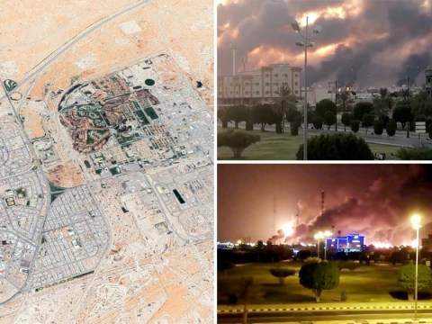 Saudi Arabia's oil production 'disrupted by rebel drone attacks'