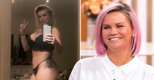 Kerry Katona slams trolls who commented on her bikini pictures: 'No wonder suicide rates have rocketed'