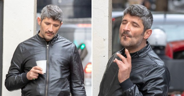 George Michael's ex Fadi Fawaz spotted stumbling around London after 'sleeping rough' for the last week